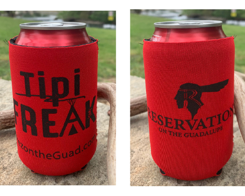 Tipi Freak Koozie