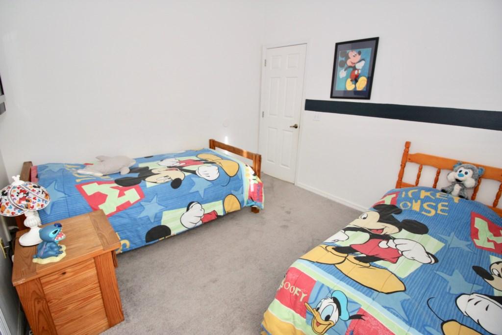 Mickey Twin Bedroom