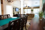 dining into family room
