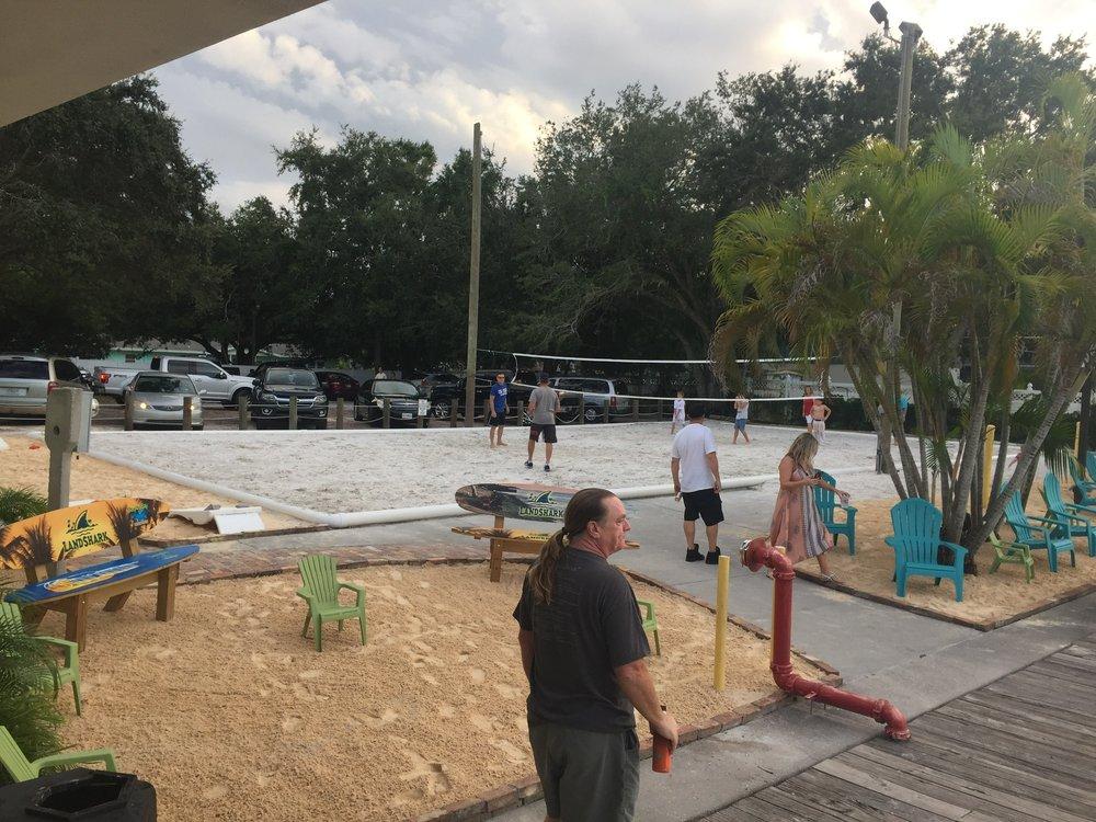 Beach Volleyball at Tarpon Bay Restaurant