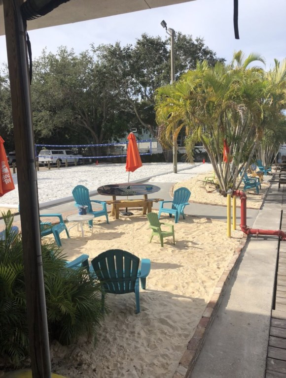 Seating for Beach Volleyball