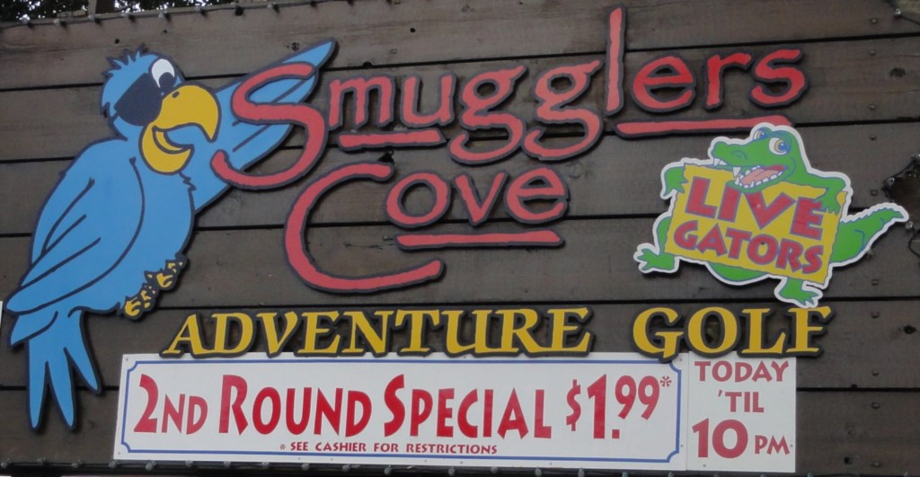 Smugglers Cove Mini Golf