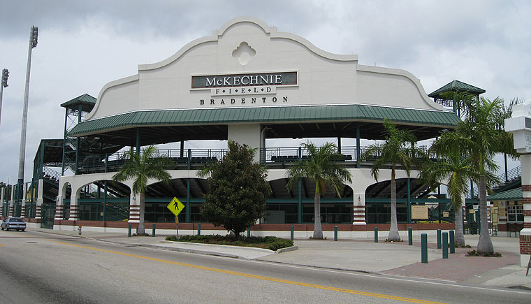 Mckechnie Field home of the Pirates!