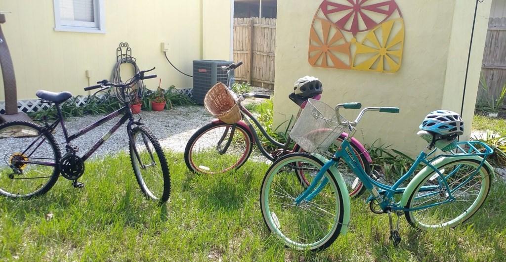 Take a bike to the beach!