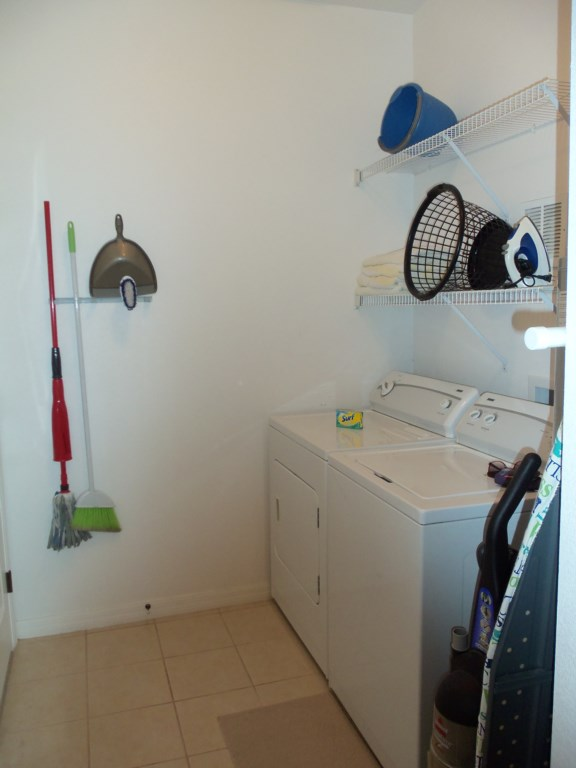 In-room laundry