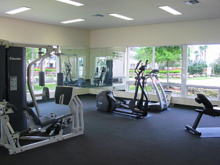 Fitness room in club house