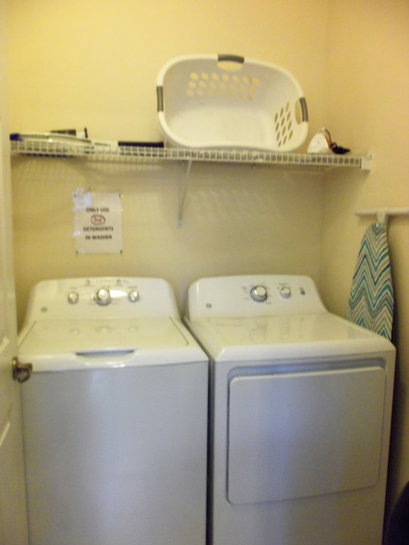 Washer & Dryer in unit