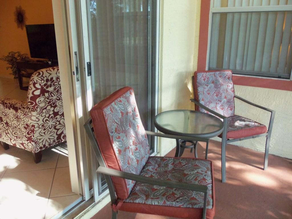 Screend-in private patio