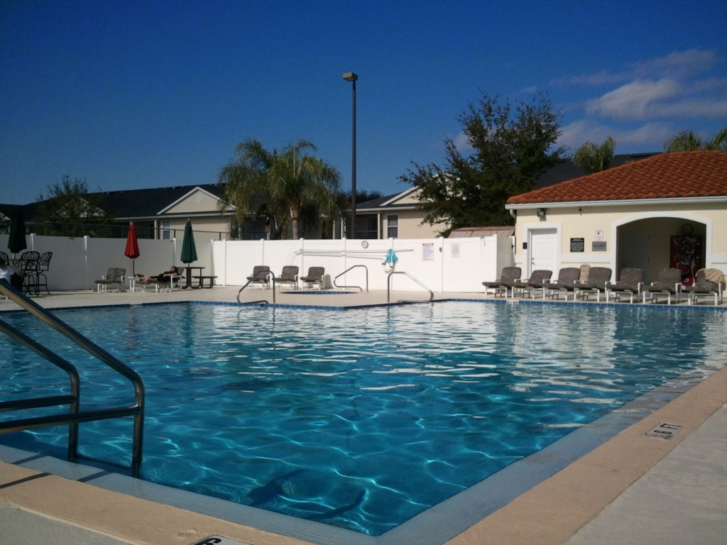 Grand Palms Heated Pool