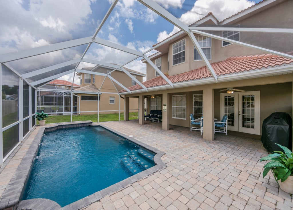 Relax and soak up the Florida Sunshine in your Private pool
