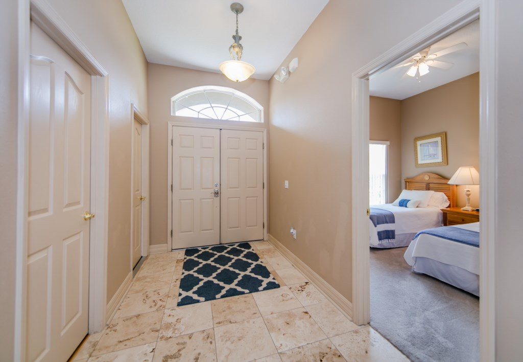 Large welcoming Entry Way
