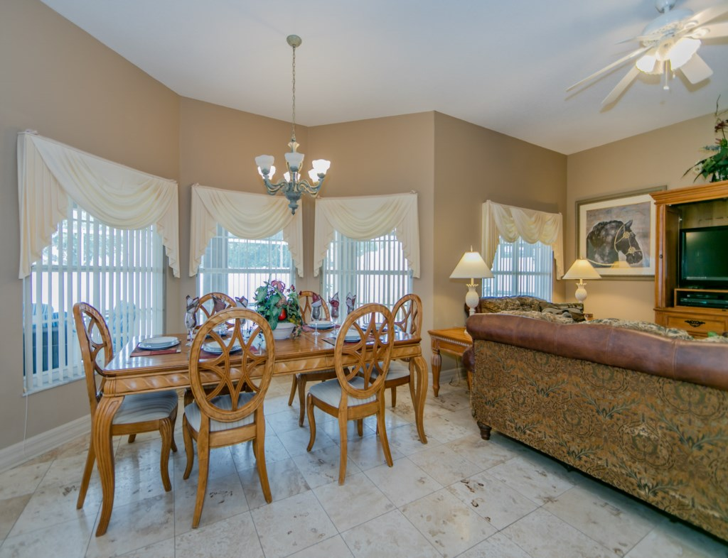 Open concept living ideal for large family gatherings