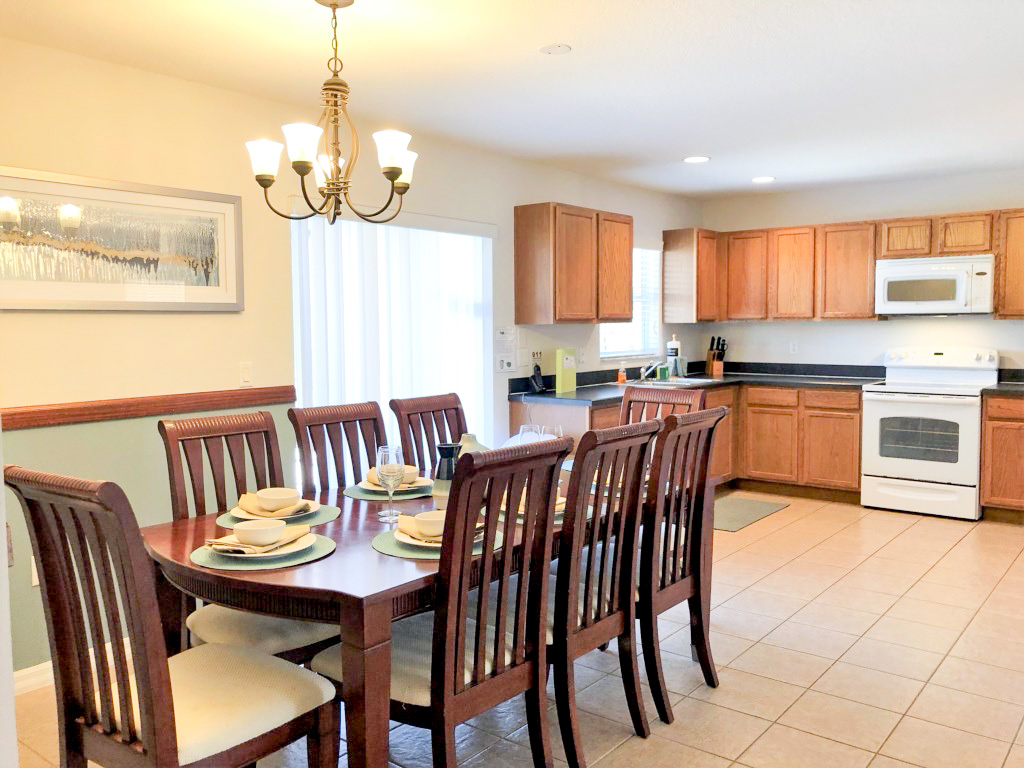 Kitchen Table and Formal Dining, seating for 8