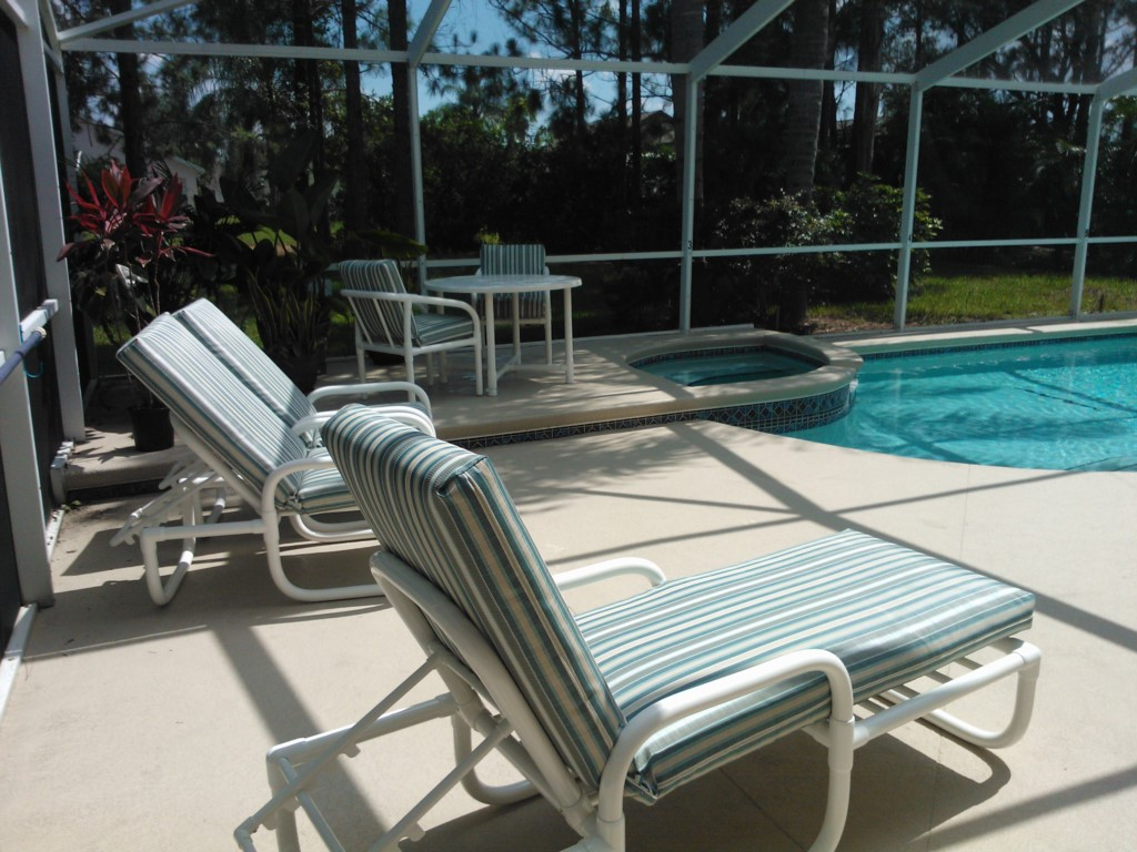 7. Pool Seating