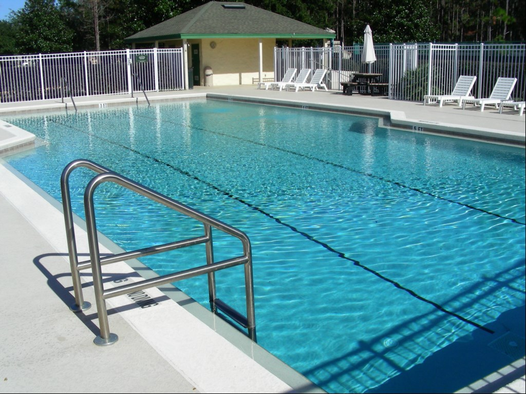 Large community pool