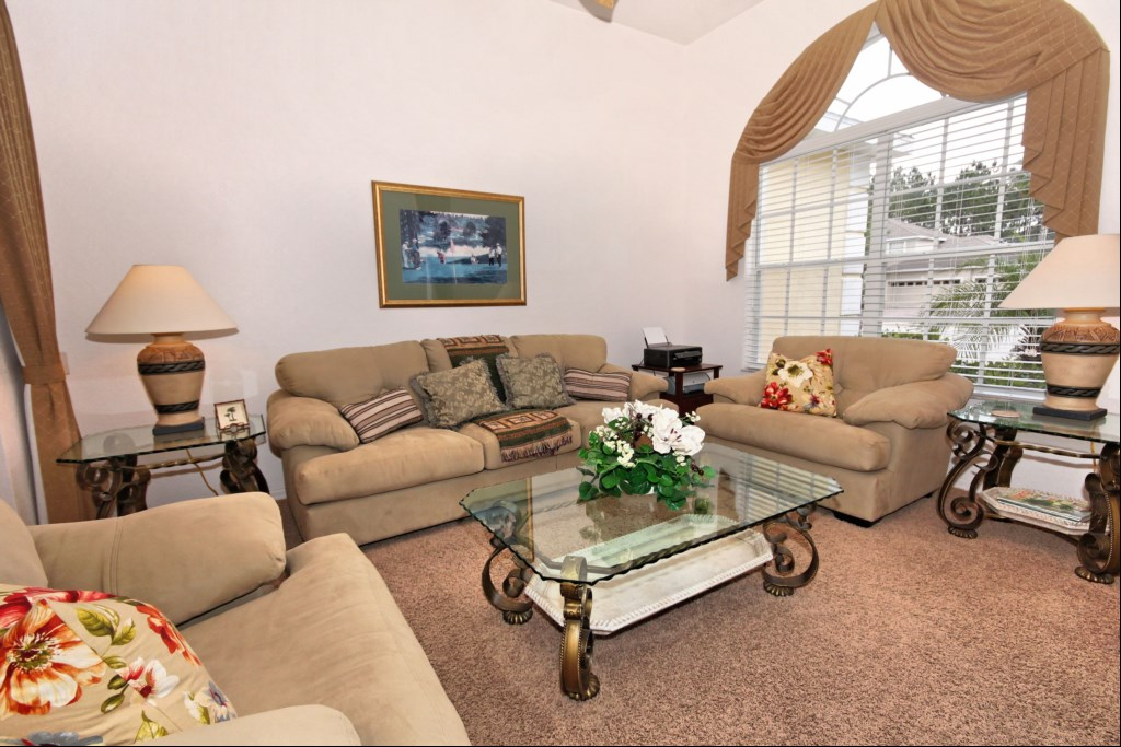 Sitting room with front aspect