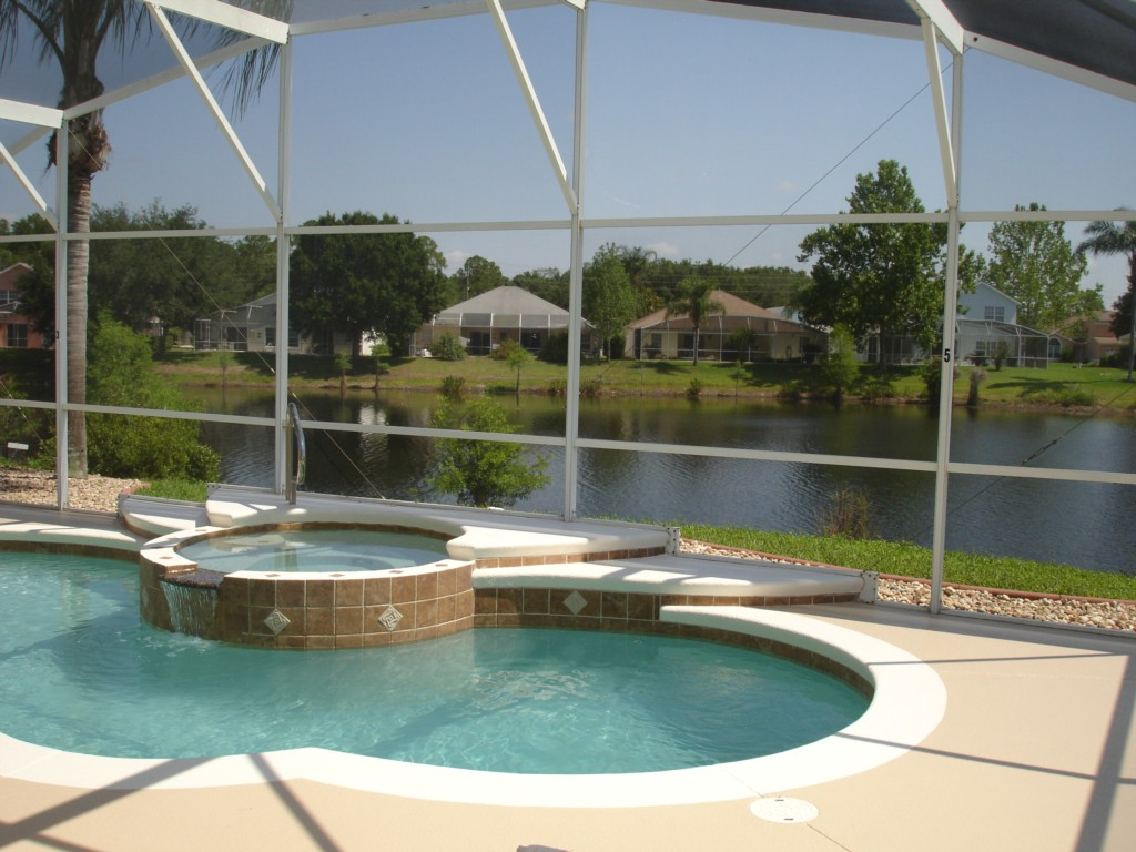 Over Sized Pool Deck