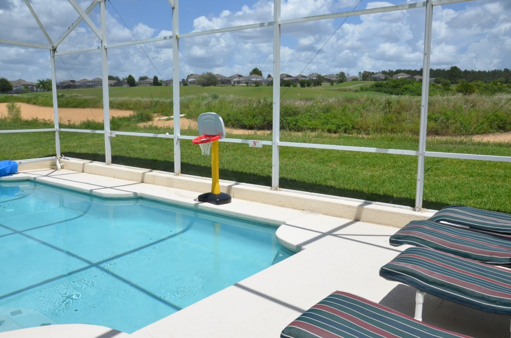 Nice Pool with Open Golf Course View