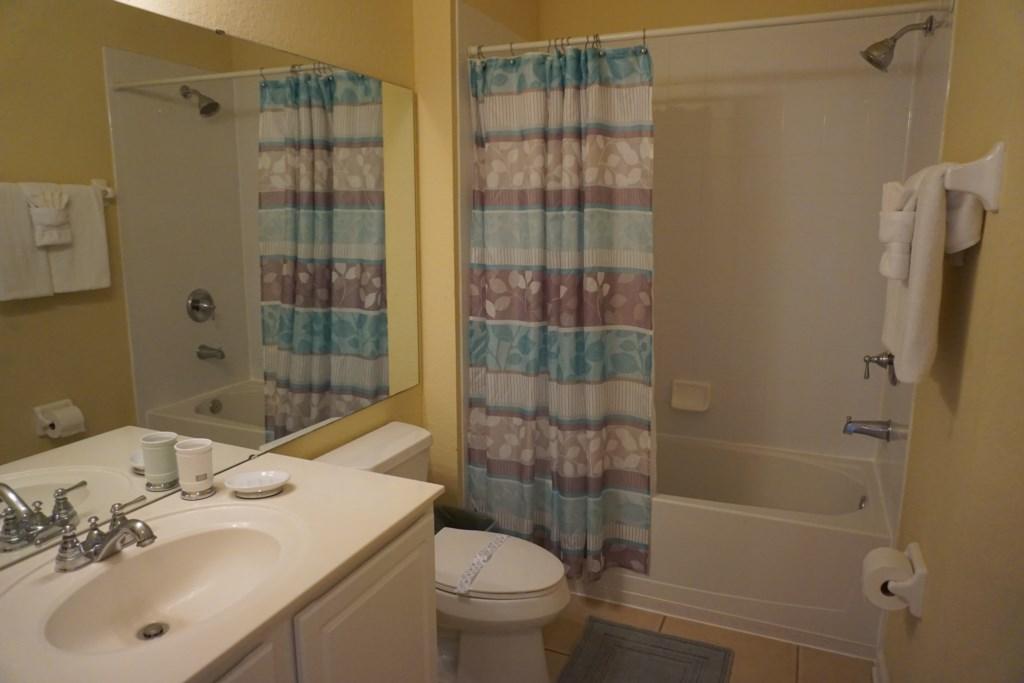 2nd Bathroom - Shower/Tub Combination