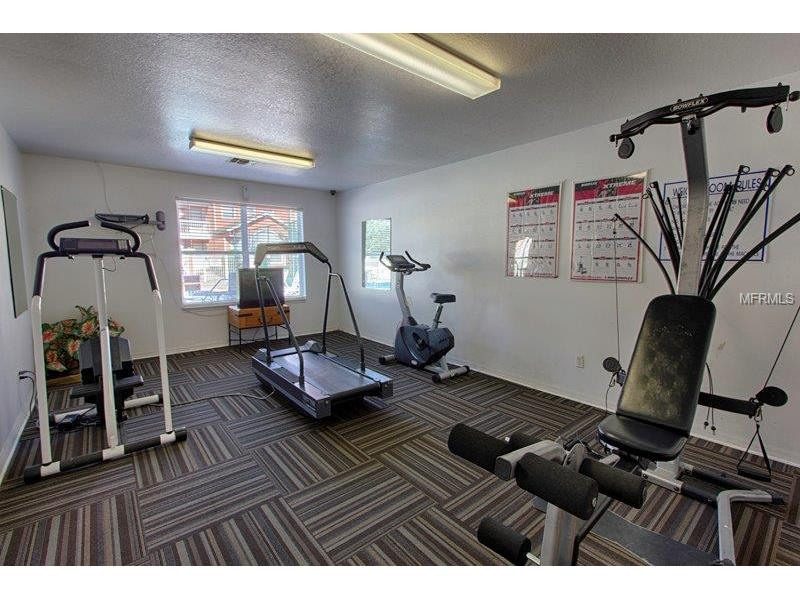Island Club Fitness Room