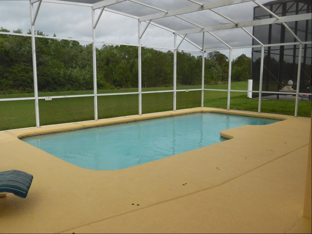 Beautiful Pool with Oversize Deck