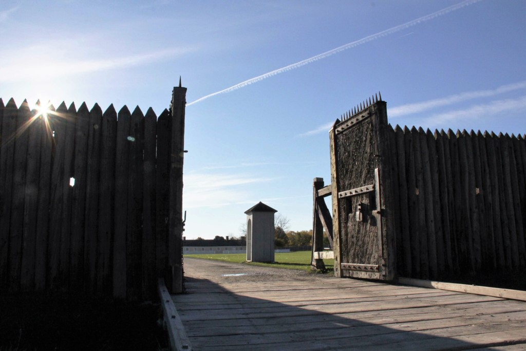 Fort George gates- Niagara-on-the-Lake