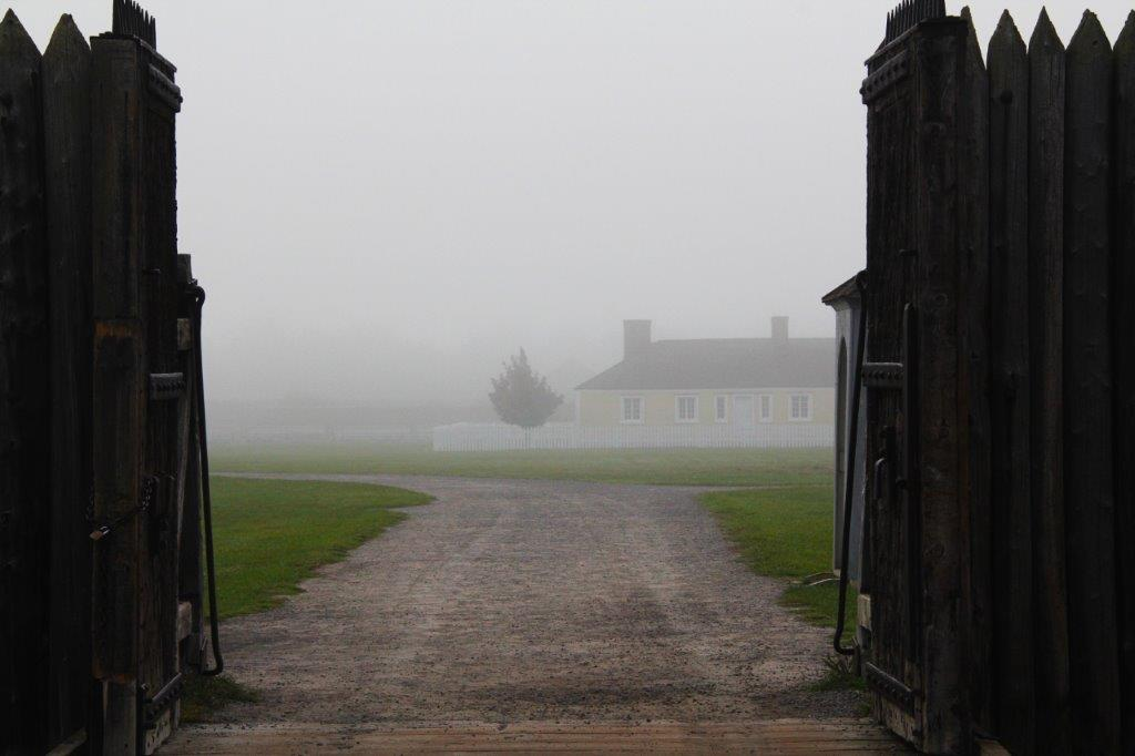 Fog at Fort George - Niagara-on-the-Lake
