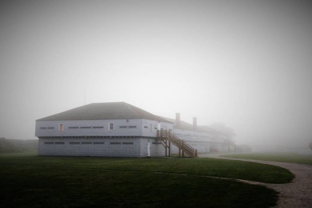 Early fog at Fort George - Niagara-on-the-Lake
