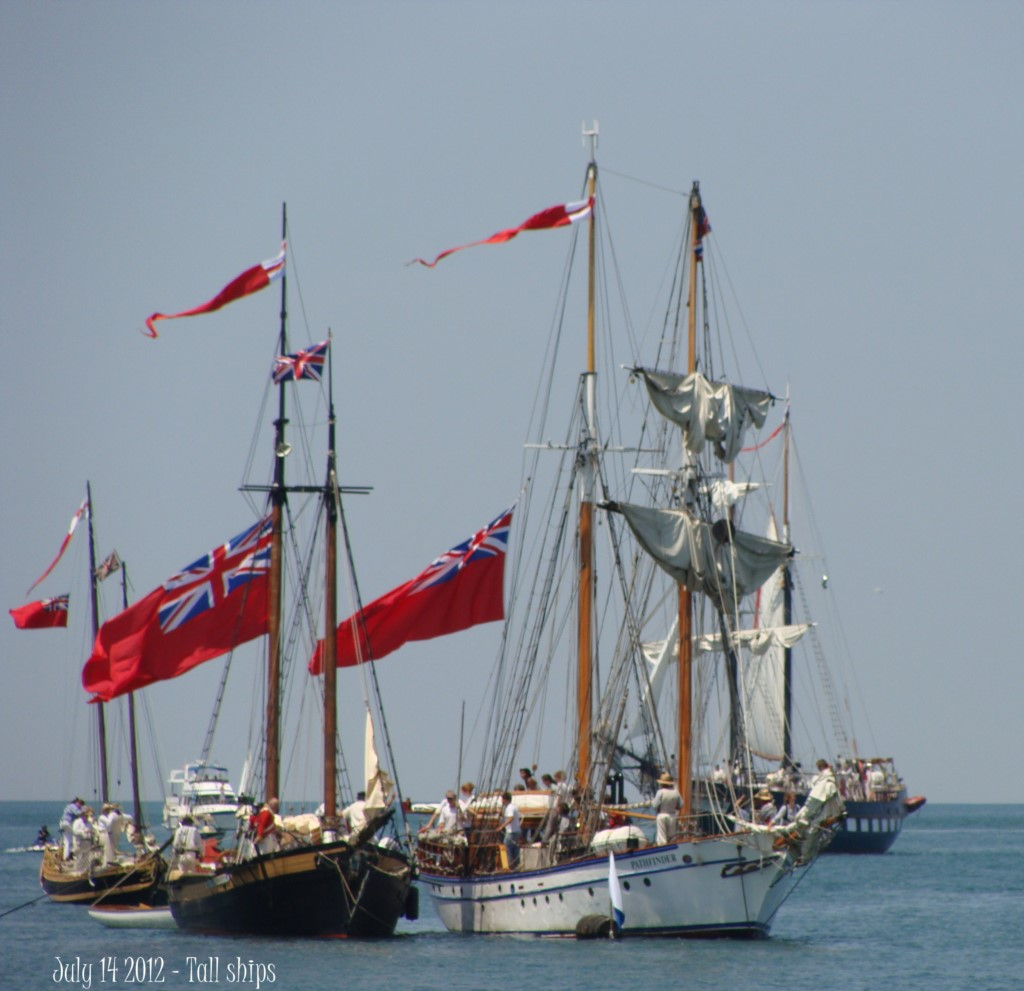 Tall ships - Lake Ontario