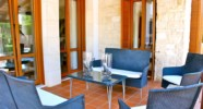 Villa Agapi - Relax on the terrace with comfortable seating and dining table. Aphrodite Hills Resort