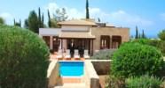 Villa Agapi - Views of the villa from the upper garden. Aphrodite Hills Resort, Cyprus.