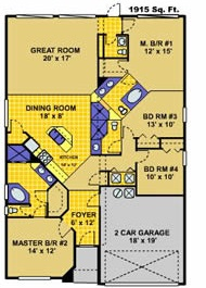 Glenbrook - Pembrook Floor Plan (1616 Morning Star Drive) - Colored.jpg