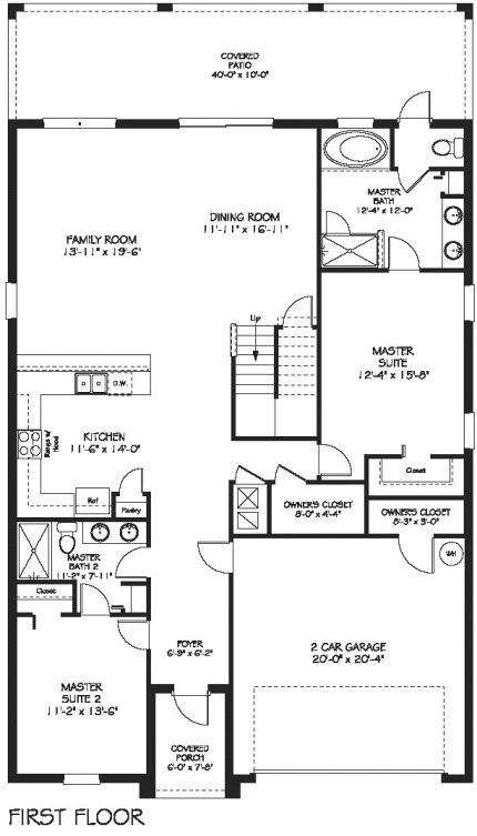 Maui Ground Floor Plan