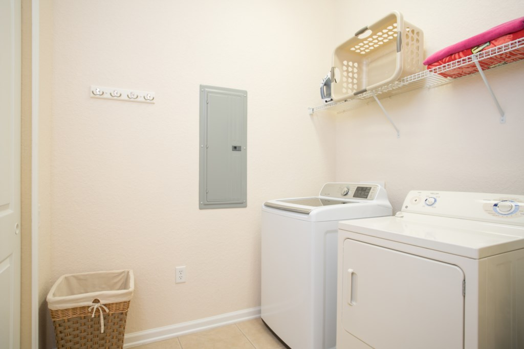 Full Size Washer/Dryer in Condo.