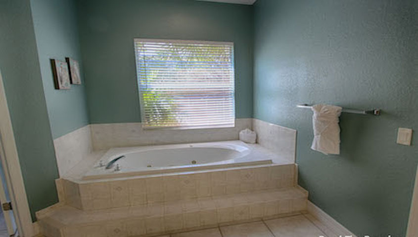 Bathroom with Jacuzzi Tub