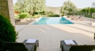 Villa 230 - Relax outside on the terrace under the shade. Aphrodite Hills Resort, Cyprus.