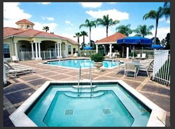 Enjoy the ClubHouse with Liscensed Tiki Bar - Just a 4 Minute Walk from Our Home
