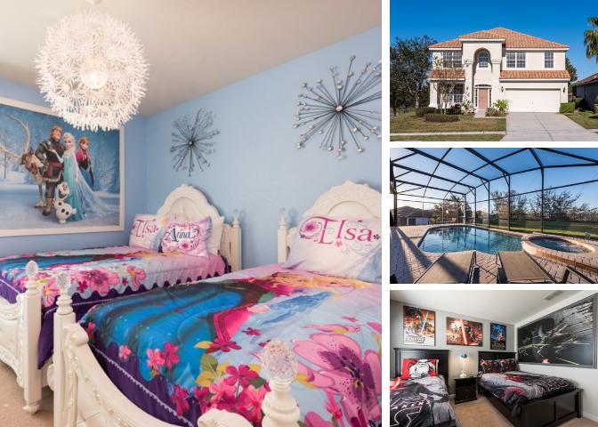 WH003- 6 Bedroom Pool Home at Windsor Hills Resort