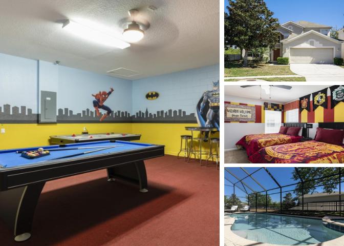 WH008- Windsor Hills 6 Bedroom Pool Home