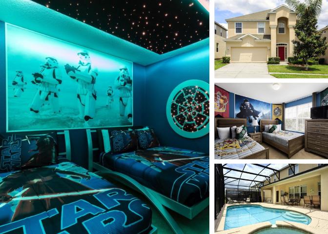 WH007- 6 Bedroom Windsor Hills Pool Home