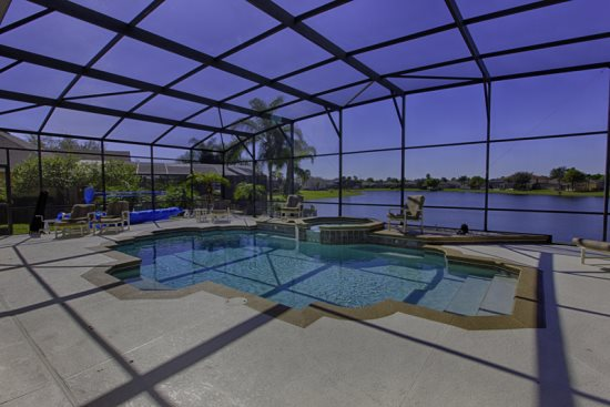 Pool/ Lake View