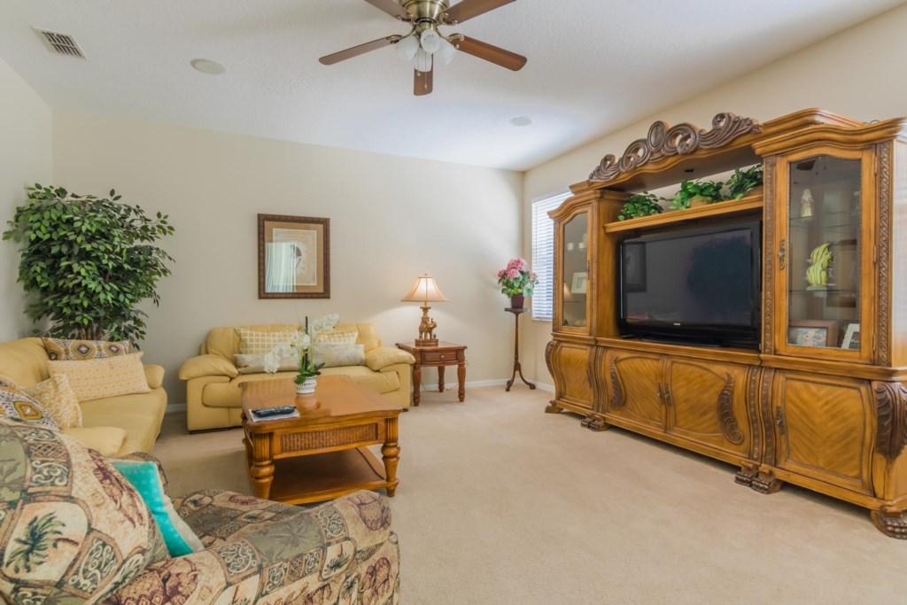 Stephen's Highlands Reserve Villa - Living Room