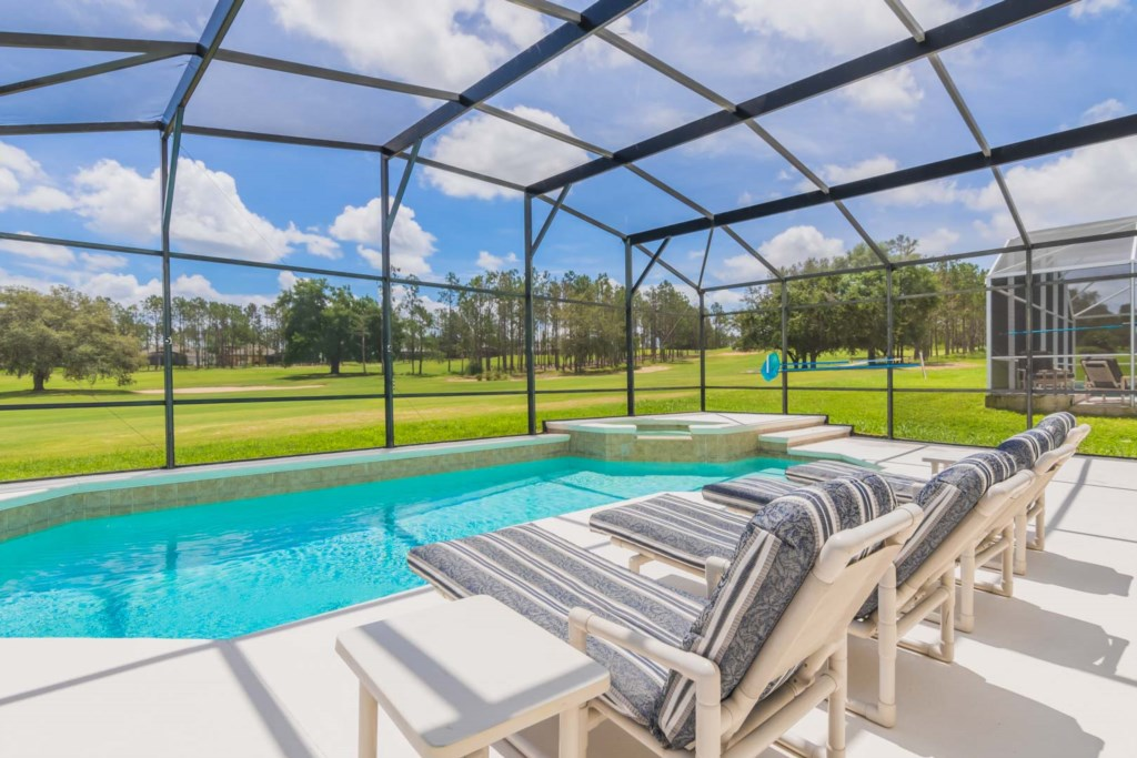 Stephen's Highlands Reserve Villa - Pool & Spa w/ Golf Course View (1)