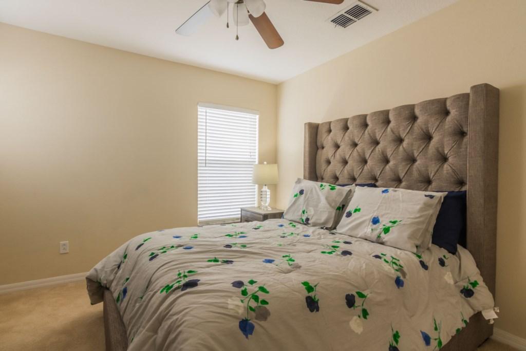Stephen's Highlands Reserve Villa - Bedroom 3 w/ Queen Bed (1)