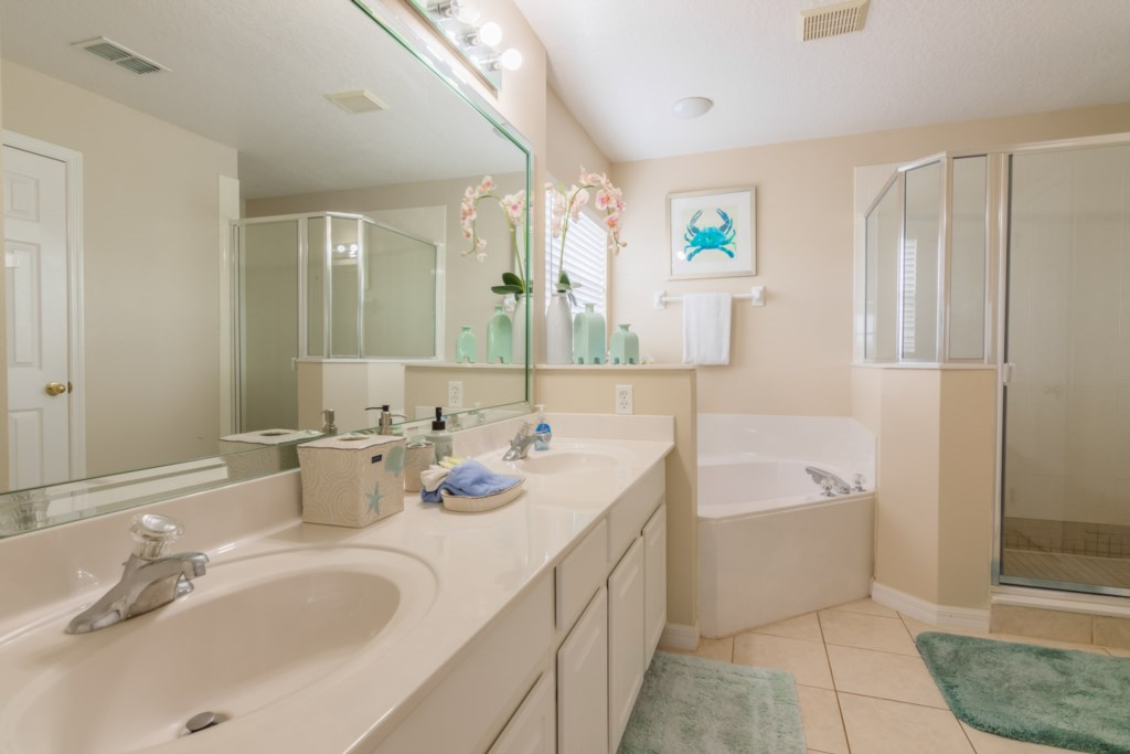 Stephen's Highlands Reserve Villa - Master Bathroom