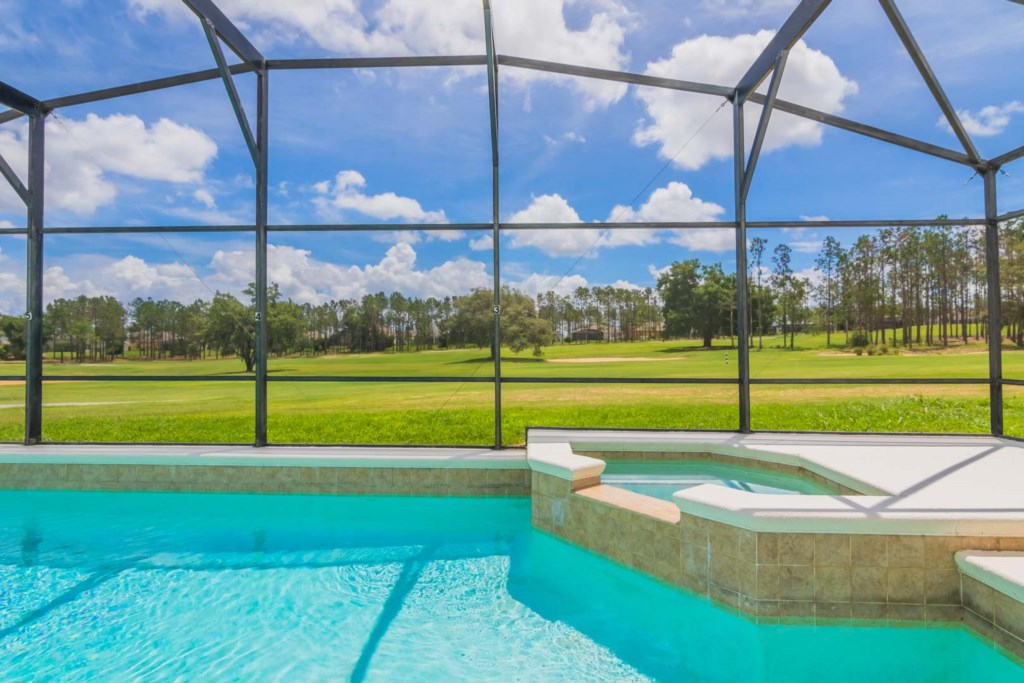 Stephen's Highlands Reserve Villa - Pool & Spa w/ Golf Course View (4)