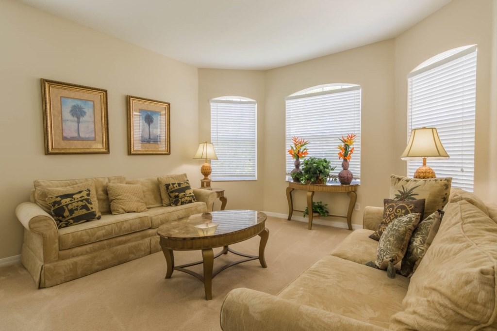 Stephen's Highlands Reserve Villa - Family Room