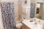 2nd Bathroom - Shower/Tub Combination & Toilet