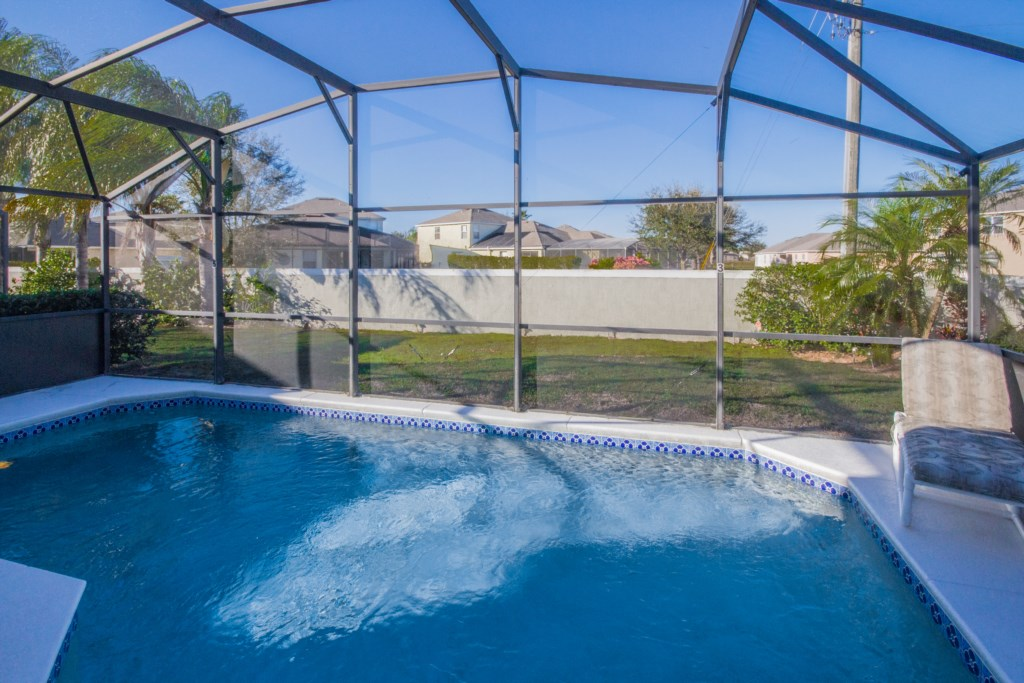 No Rear Neighbors - Private Heatable Pool