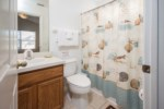 Master Ensuite Bathroom - Shower/Tub Combination & Toilet